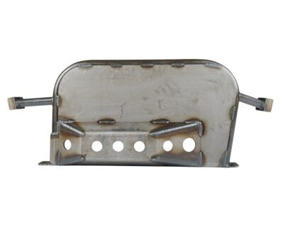 Tacoma T-Case and Exhaust Skid Plate 05-Present Toyota Tacoma Bare All Pro Off Road