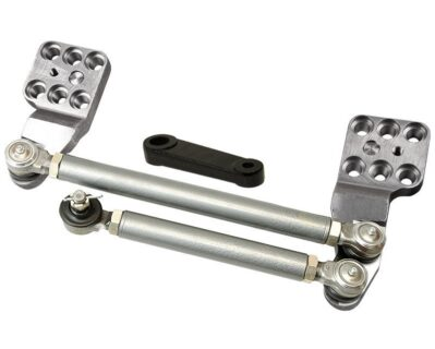Toyota High Steer Crossover Steering +5 Axlel LHD 6 Stud Pitman Arm For 79-95 Pickup 85-95 4Runner Trail Gear