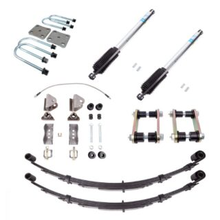 1979-1988 Toyota Pickup and 1985-1988 Toyota 4Runner Rear Suspension Kit 4 Inch Springs All Pro Off Road