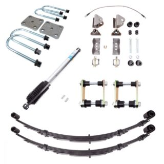 89-95 Toyota Pickup Rear Suspension Kit 5 Inch Springs All Pro Off Road