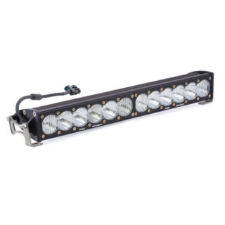 20 Inch LED Light Bar Single Straight Driving Combo Pattern OnX6 Baja Designs