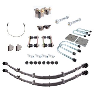 95-97 Toyota Tacoma Rear Suspension Kit with Expedition Leaf Springs All Pro Off Road