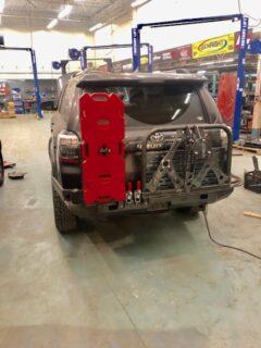 14-19 4Runner Rear Plate Bumper