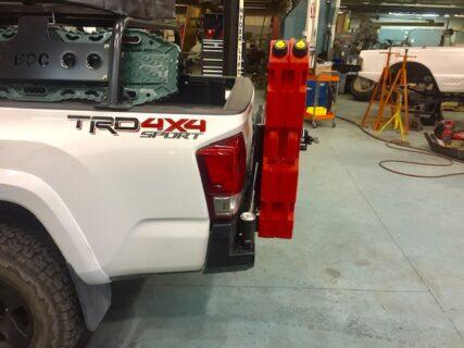 16-20+ Tacoma Standard Rear Bumper