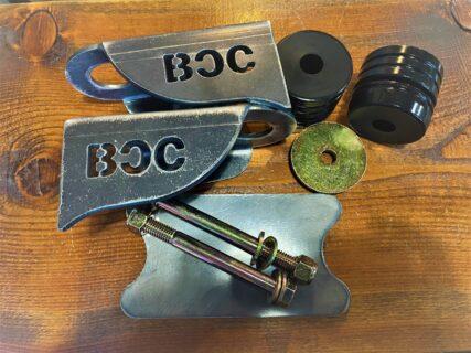 BCC Cab Mount Relocation Kit